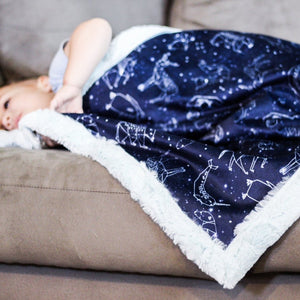 Animal Constellations Blanket