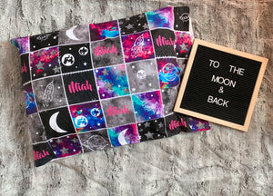 Galaxy Patchwork Pillowcase