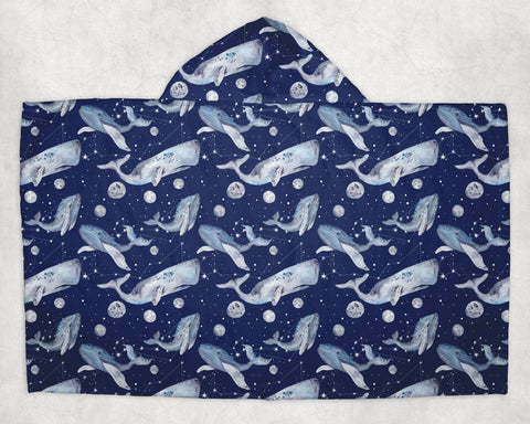 Midnight Whale Towel