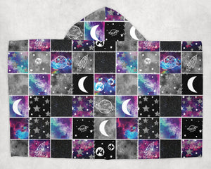 Galaxy Patchwork Towel