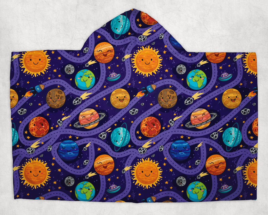 Planet Party Towel