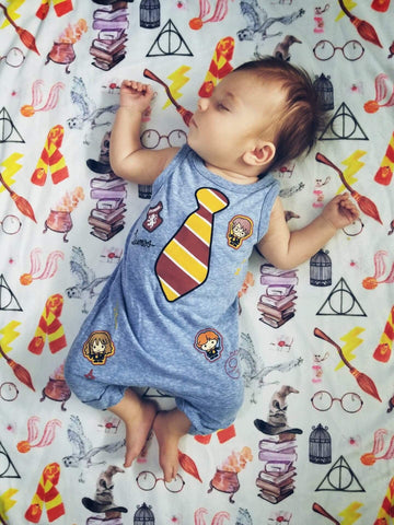 Watercolor Harry Potter Blanket