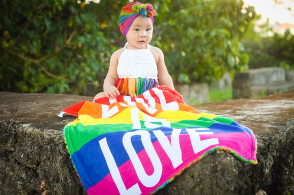 Love Is Love - Pride Blanket
