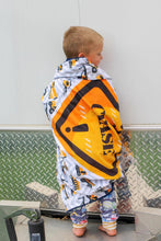 Load image into Gallery viewer, Personalized Construction Blanket - The Snuggly Geekling