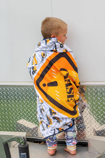 Personalized Construction Blanket