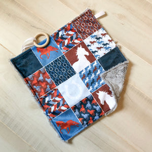 Horse Patchwork Lovey