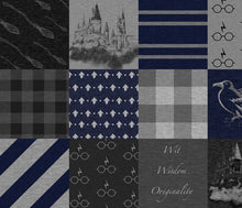 Load image into Gallery viewer, Ravenclaw House Blanket - The Snuggly Geekling