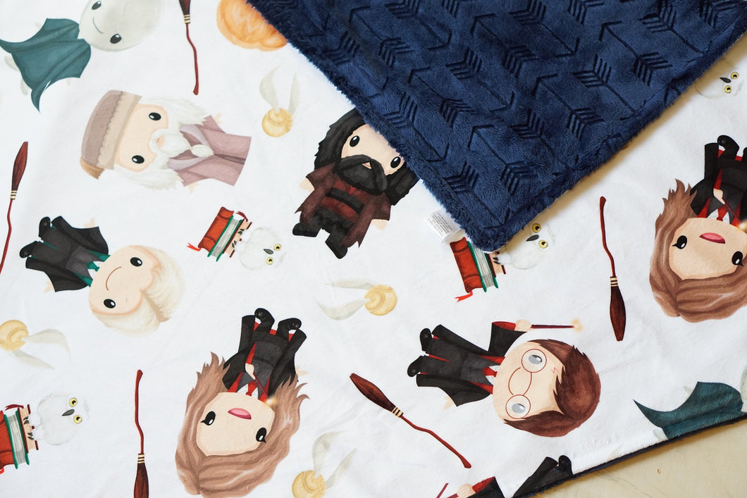 Harry and Friends Blanket - The Snuggly Geekling