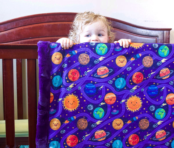 Planet Party Blanket