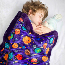 Load image into Gallery viewer, Planet Party Blanket - The Snuggly Geekling
