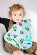 Load image into Gallery viewer, Rawrsome Rex Lovey - The Snuggly Geekling