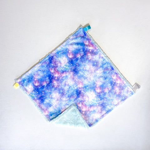 Cotton Candy Galaxy Blanket