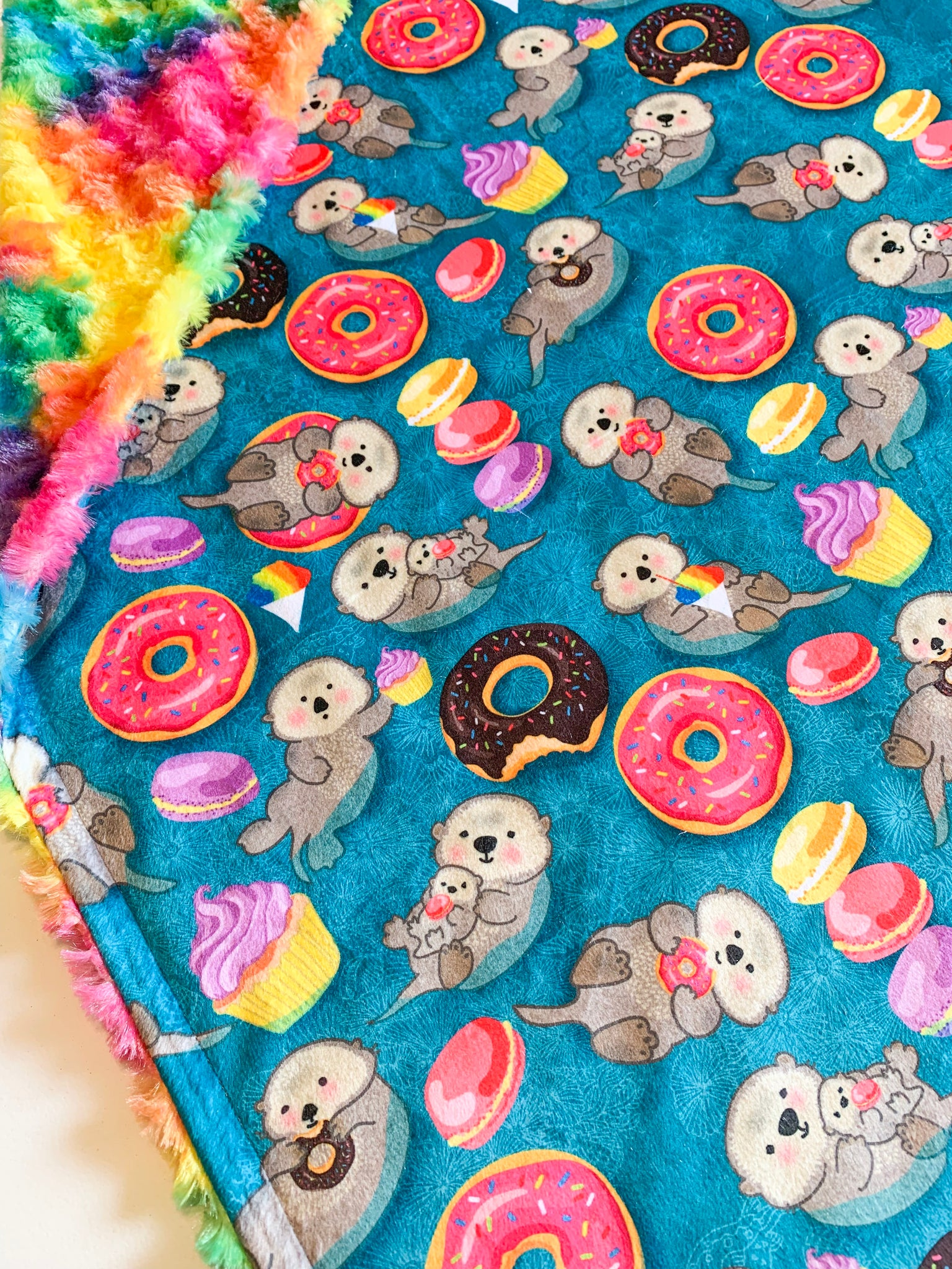 Otter Play Days Blanket