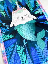 Load image into Gallery viewer, MerKitty Blanket - The Snuggly Geekling