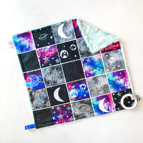 Galaxy Patchwork Lovey