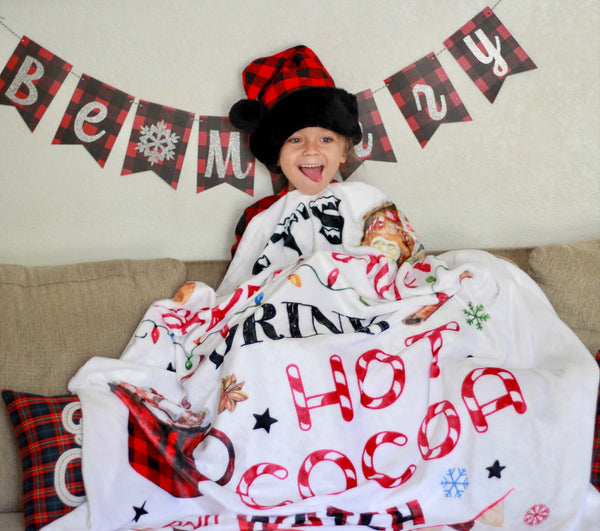 Hallmark Christmas Movie Blanket