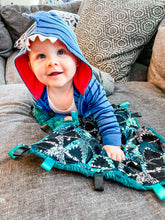 Load image into Gallery viewer, Grunge Sharks Blanket