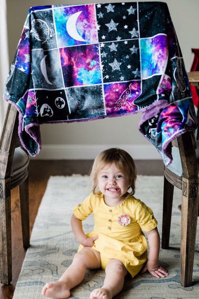 Galaxy Patchwork Blanket