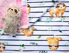 Load image into Gallery viewer, Sleepy Sloth Blanket - The Snuggly Geekling