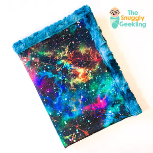 Rainbow Galaxy Blanket