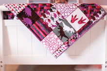 Load image into Gallery viewer, Personalized Dinosaur Patchwork - Pink Version - The Snuggly Geekling