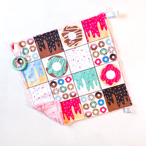 Donut Patchwork Lovey