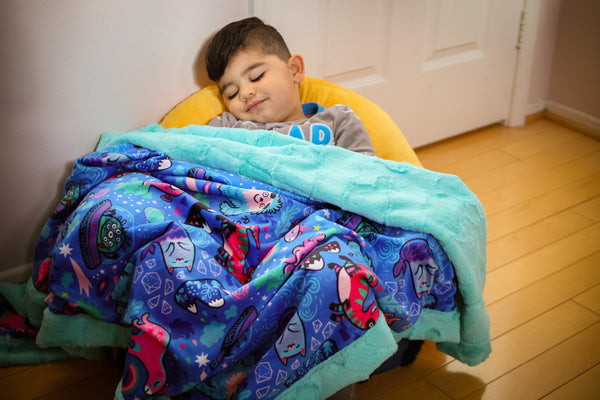 Monster Explorers Blanket