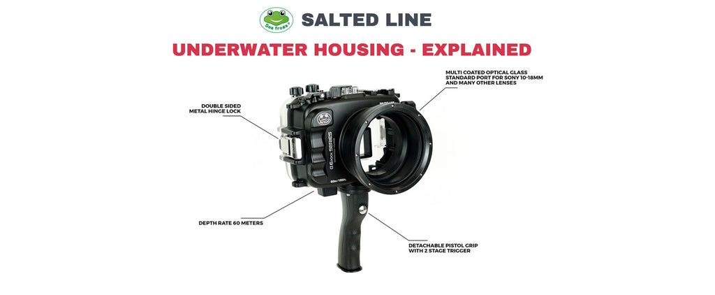Salted Line Underwater Housing - KEY FEATURES EXPLAINED