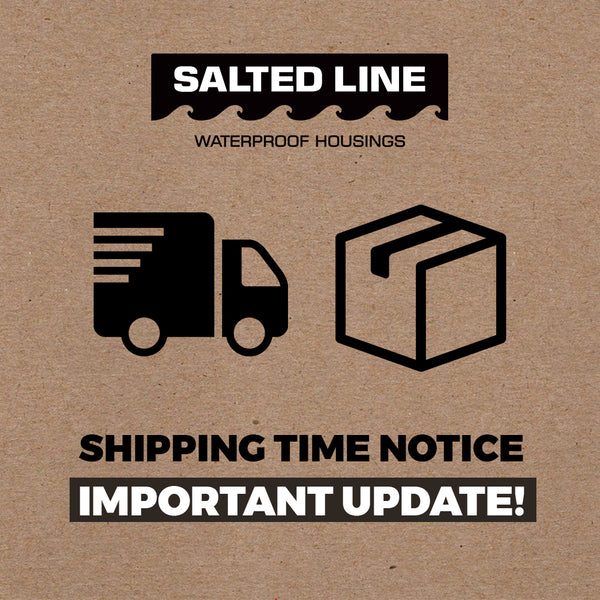 Salted Line Europe orders shipping update