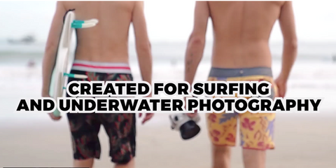 Salted Line underwater housing for surfing photography
