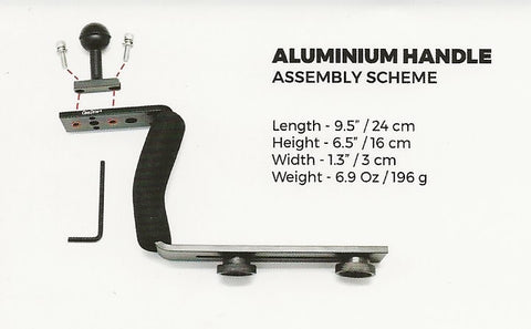 Alluminium Handle Grip Assembly Scheme