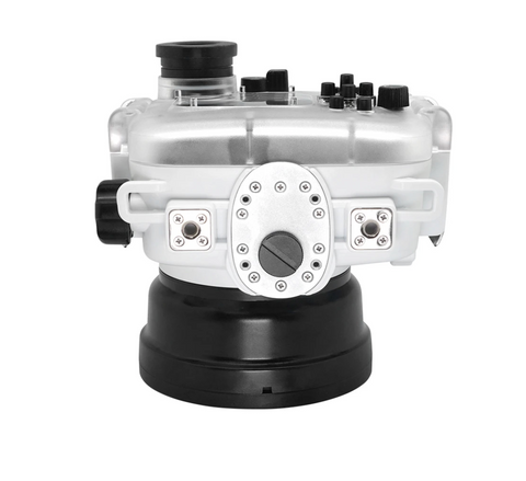 Salted Line underwater Housing for Sony RX100 white bottom part