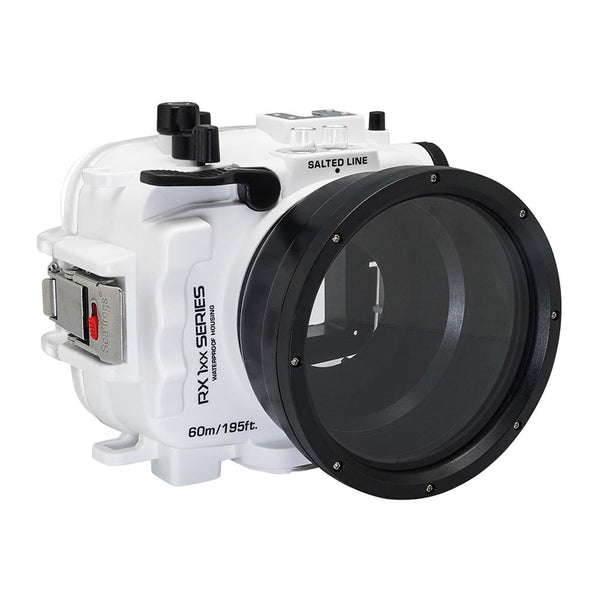 Salted Line underwater housing for sony RX100 white