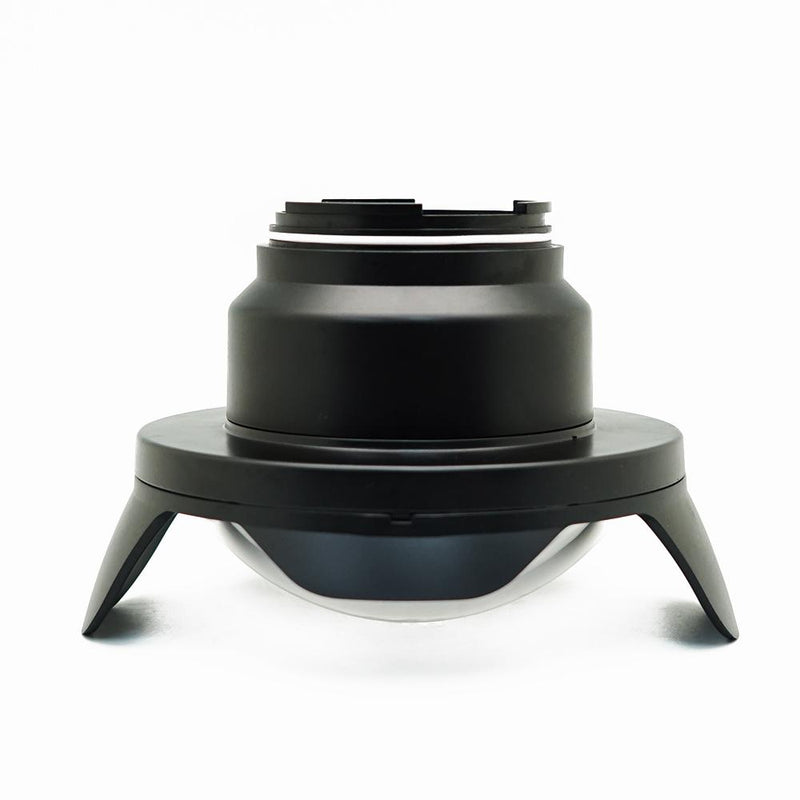 "6"" Wide Angle Dry Dome Port for Salted Line Underwater Housing side view"
