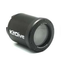 KitDive Flat Long Macro Port with 67mm Thread