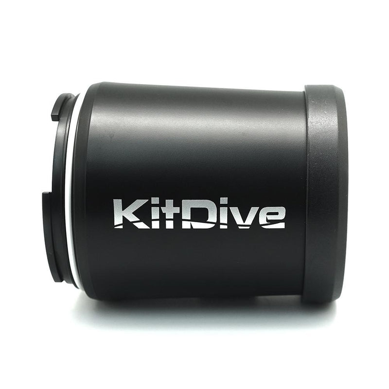 KitDive Flat Long Macro Port with 67mm Thread side view