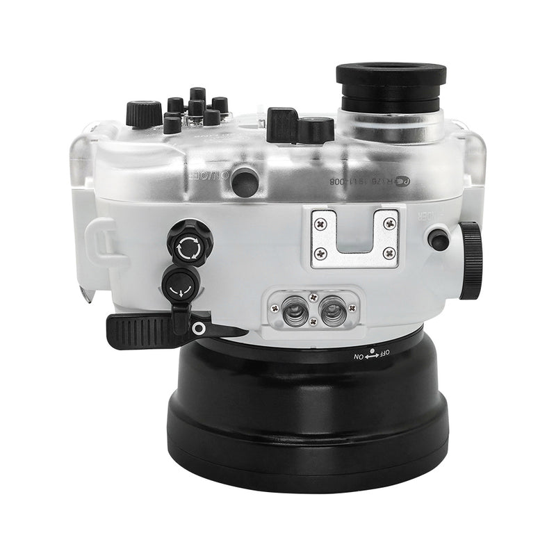 Underwater housing for Sony RX100 with Pistol grip trigger