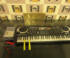 Escape room prop customized:  Electronic organ prop