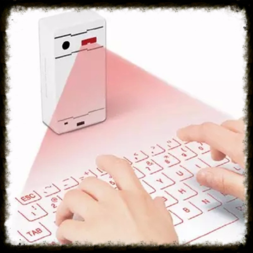 Escape room prop customized: Laser keyboard prop