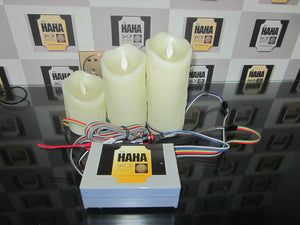Escape room prop: Candle prop