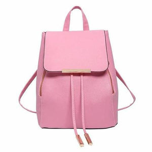 Pink fashion backpacks women's