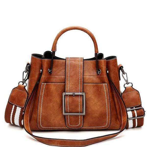 Brown crossbody bags for women leather