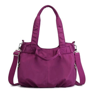 Purple stylish crossbody bags for travel