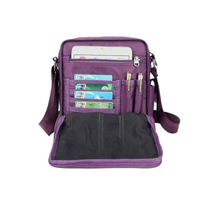 messenger bag card slots