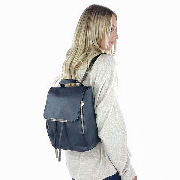 Fashion backpacks for women, Black, White, Light Blue, Pink, Grey, Blue