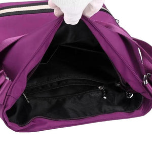 Hadley, Women Luxury Backpack Shoulder Bag, showing compartment area