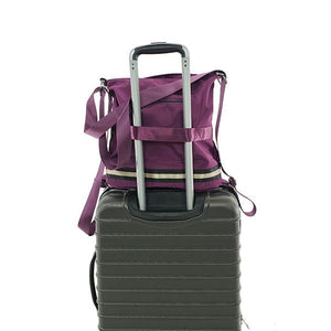 luggage sleeve of convertible women travel bag