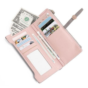 Slim wallet with lot of cards slot