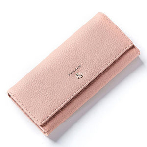 Pink best leather wallets for women