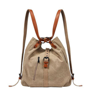 canvas shoulder bag backpack